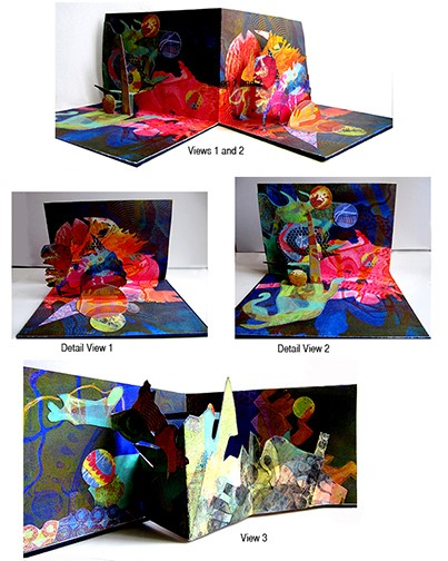 Tamar Etingen's Pop-Up Books